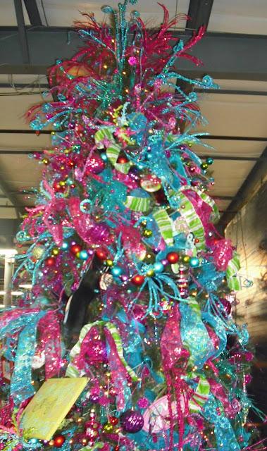 blue christmas trees decorating ideas - Purple And Blue Christmas Tree Decorations